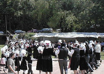Accordéon diatonique danse bretonne.